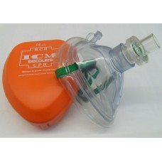 CPR Pocket mask / Valve / box