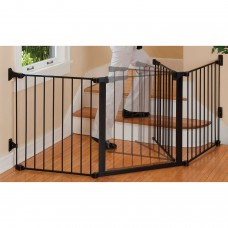 "30"" Door - Auto Close Configure Gate - Black"