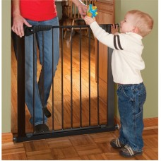 Gateway Pressure Mount Safety Gate  - Black