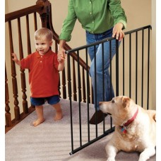 Safeway Hardware Mount Safety Gate  - Black