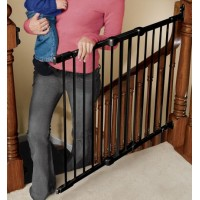 Angle Mount Safeway Gate - Black