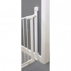 Qdos Universal Stair Mounting Kit for Hardware & Pressure Mounted Safety Gates - White