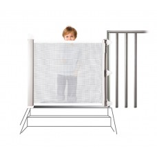 Lascal KiddyGuard Accent Safety Gate - White