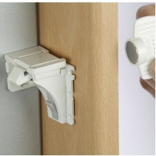 Adhesive Magnetic Locks & Key (4+1)