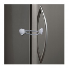 Flexible Strap Appliance Lock - White