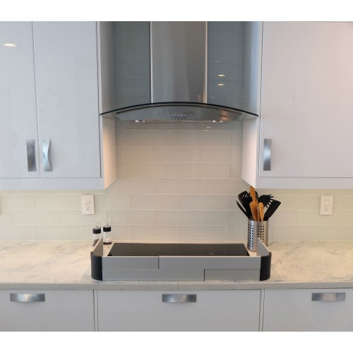 Qdos Stove Guard In The Kitchen Montreal Safety Experts