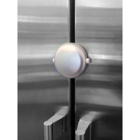 Qdos Adhesive Fridge/Freezer Lock - Chrome